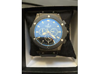 Hublot Big Bang, Automatic, Chronograph Watch, Rubber Strap & Boxed, 1st Class Postage Available