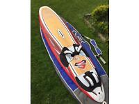 Wind surfing Starboard 104 s type