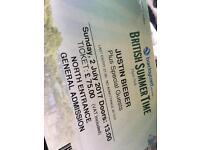 2x Justin Bieber Tickets Hyde Park