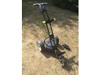 Motocaddy M1 Pro Electric Golf Trolley with 18 hole Lithium Battery - Excellent Condition