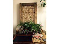 Bespoke Handmade Wooden Cork Board - Islington Collection
