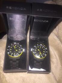 2 Sekonda watches for sale