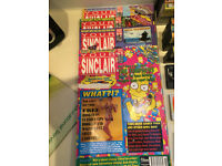 Your Sinclair magazine with cassettes