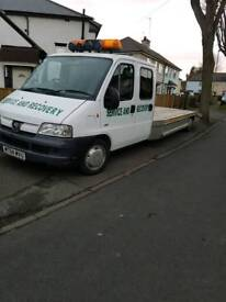 Recovery truck,low miles,carrys4x4's and transit vans with ease,12mths mot,Twin cab