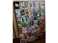Large Marvel superheroes canvas and small batman canvas £5.00 for both