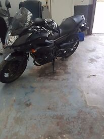 Yamaha XJ6 Diversion ,7 months MOT with heated grips and crash bobbin fitted