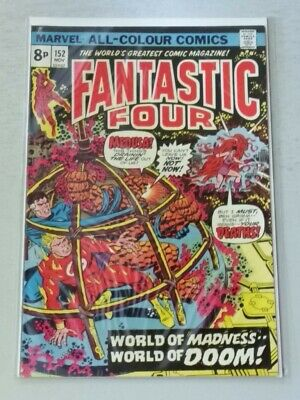 FANTASTIC FOUR #152 VF/NM (9.0) MARVEL COMICS NOVEMBER 1974*