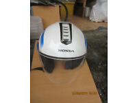 Honda Open Face Motorbike Helmet - Very Good Condition 58cm