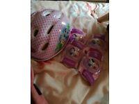 Disney helmet & pads