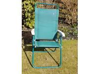 Lafuma garden/camping lightweight reclining chair