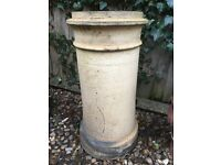 Reclaimed chimney pot, ideal for the garden and plant pots (3 available - £30 each)