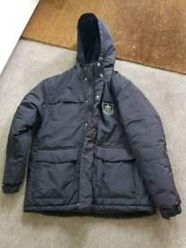 Official Burnley football club merchandise coat