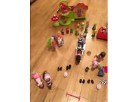 Peppa Pig, Dora the Explorer and Mini Baby Born bundle