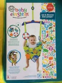 Baby Einstein door bouncer