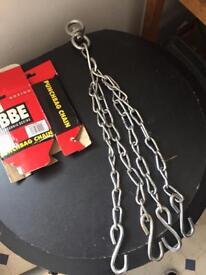 Punching bag chain
