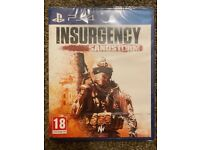 **SEALED** INSURGENCY SANDSTORM PS4 GAME BRAND NEW VIDEO GAME FOR PLAYSTATION 4