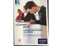 Kaplan ACCA F4 English law revision kit