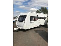 Sterling Quartz 4 berth Caravan 2011 with motor mover FSH new tyres and extras""