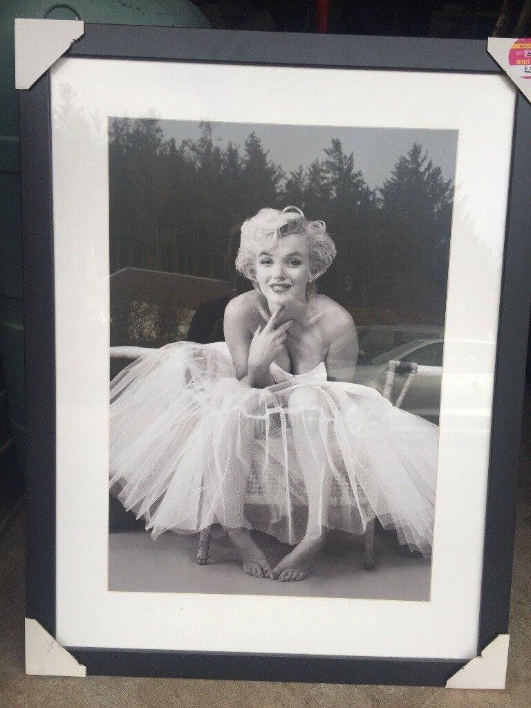 Marilyn Monroe Framed Print | in Jedburgh, Scottish Borders | Gumtree