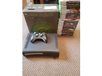 Xbox 360 Elite With 25 games Excellent Condition