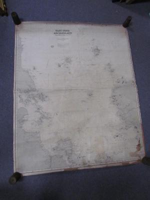 ANTIQUE 1882 EAST INDIA ARCHIPELAGO NAUTICAL CHART MAP #2, CHINA, JAMES IMRAY