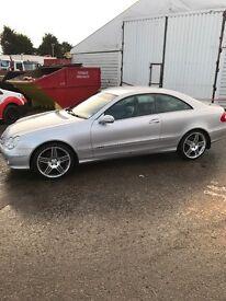 Mercedes clk 320 (2003)