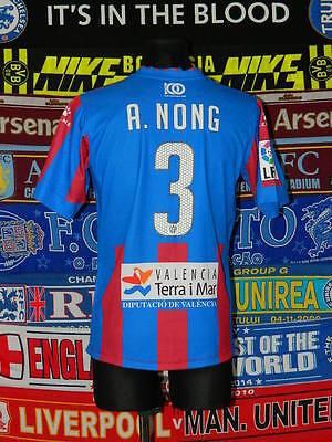 4.5/5 Levante adults M 2012 #3 Nong football shirt camiseta soccer image