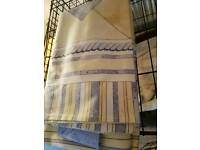 Curtains tiebacks & matching pillowcases