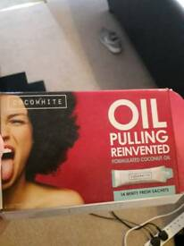 coco white oil pulling teeth whitener