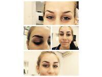Eyelash extensions & Brows MICROBLADING!!