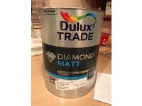 5litre Dulux Diamond Matt Paint
