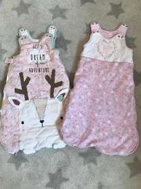 0-6 months old girls sleeping bags
