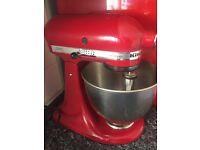 Red Artisan Kitchenaid