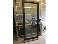Double Glazed External Wooden Door