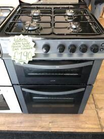 LOGIK 60CM ALL GAS COOKER IN GREY