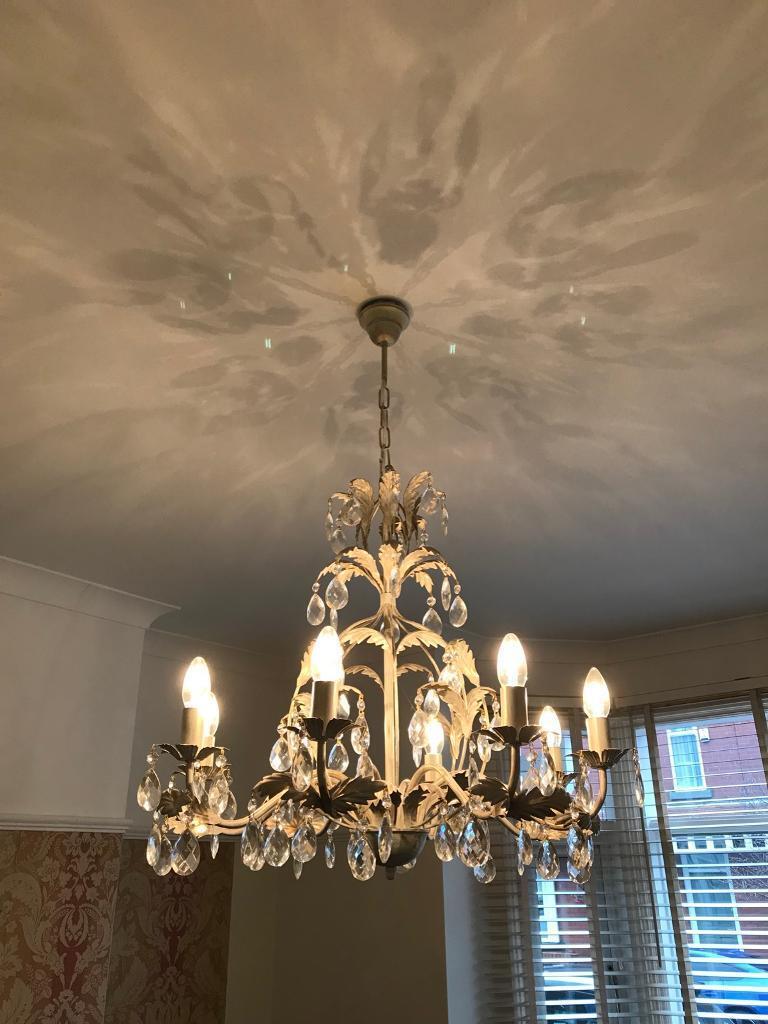 John lewis annabella 8 arm chandelier in manchester gumtree john lewis annabella 8 arm chandelier arubaitofo Gallery