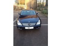 Driver available with Mercedes CLS 320