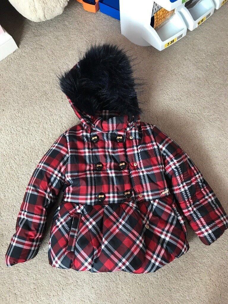 Mayoral girls winter jacket age 5