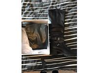 Free biker boots - never been worn