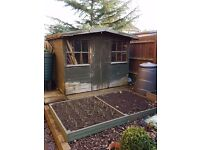 Used Garden shed 8' x 6'