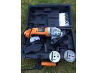Worx WX424 for spares or repairs. With brand new blades.