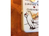 Surfing Bear Overdrive Nine Volt Pedals 808 Style