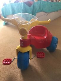 Child tricycle in perfect working condition
