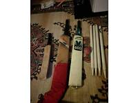 Vintage cricket set
