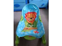 Fisher-Price Precious Planet Newborn-to-Toddler Rocker-USED,very good condition