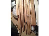 Skirting boards, 2x3's, arcatrive, pvc board,