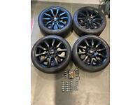 "VW T6 T5 transporter Range Rover 20"" alloy wheels tyres"