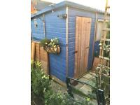 Shire pent shed 6' x 8'