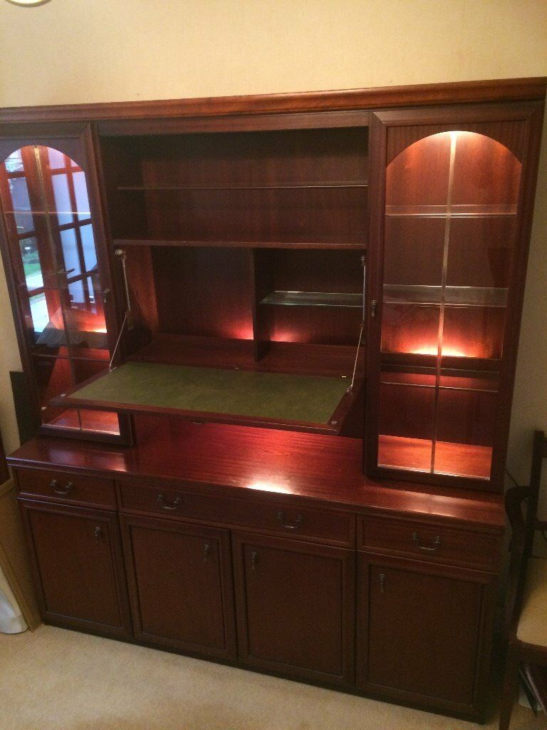 Dining Room Sideboard with display cabinet Unit | in ...