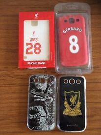 joblot of liverpool phone cases